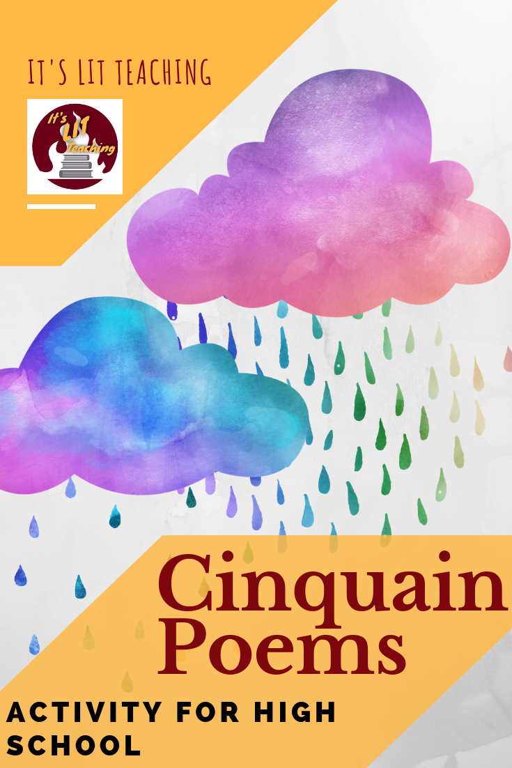 Cinquain Poetry for High School Creative Writing | High