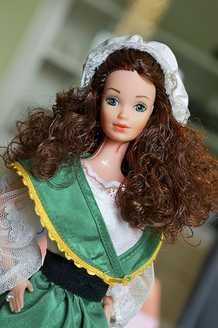 1983 Irish Barbie® 1st Edition   Barbie Dolls of the World Collection *DOLLS OF THE WORLD
