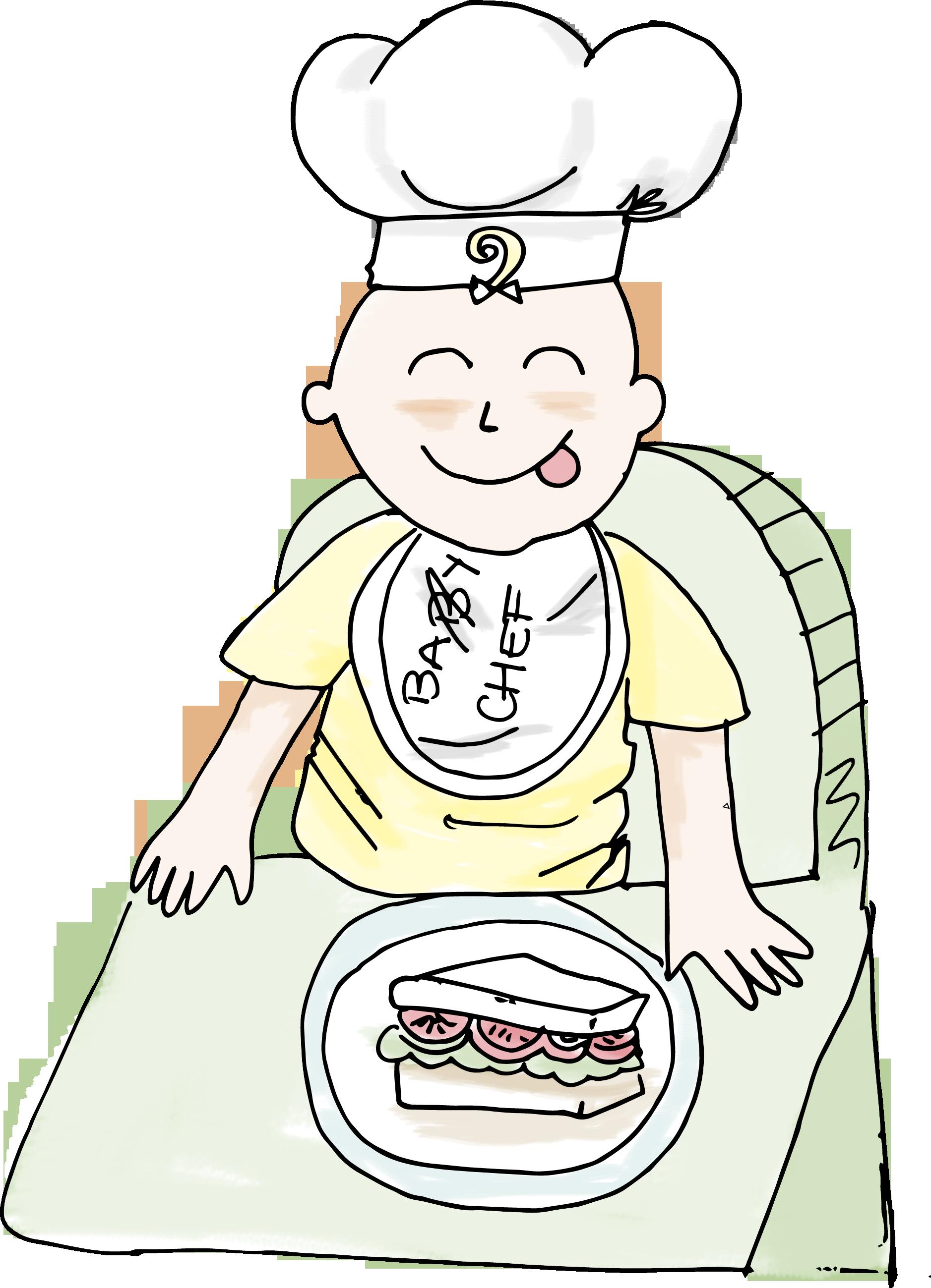 Taller para bebés sobre alimentación