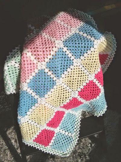 Pin von Lisa Gane auf Crochet > blocks, squares, CALs, etc ...