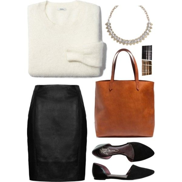 Work Fashion by teennetwork on Polyvore featuring Madewell, Topshop, Report, Gimme Clips, WorkWear, ootd, flats and mindykaling
