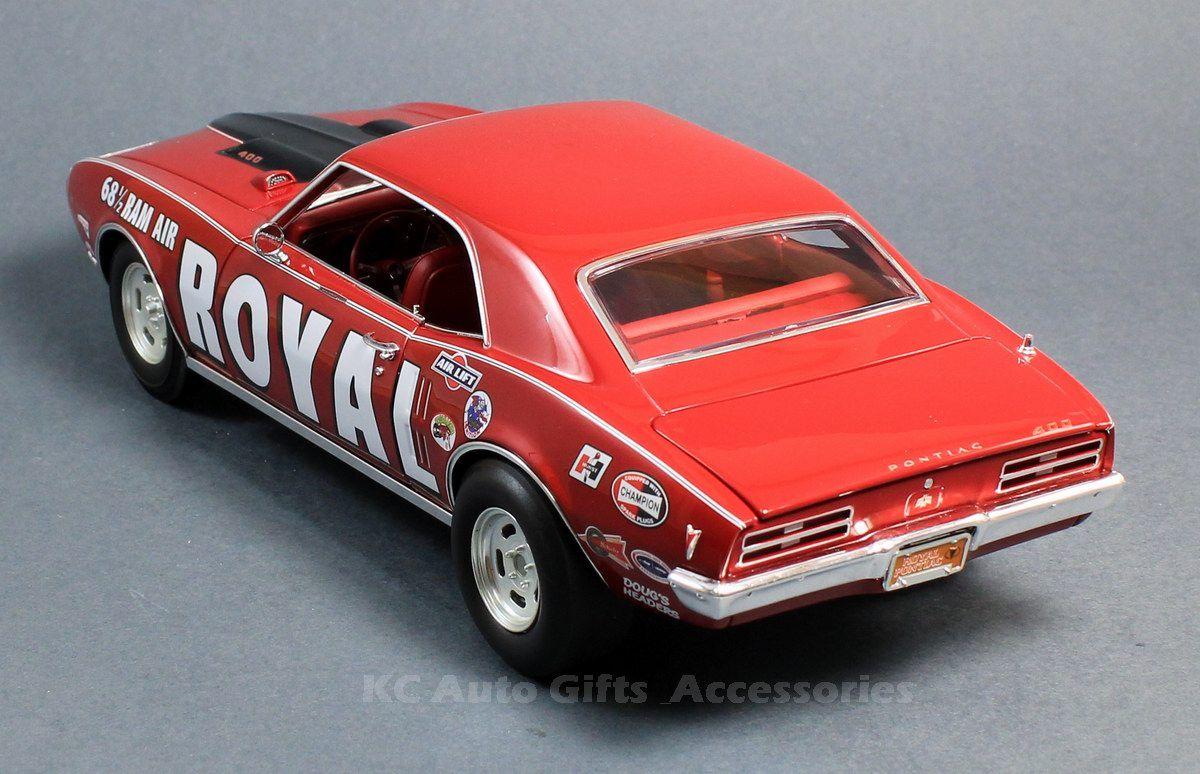 1968 1/2 Royal Pontiac Firebird Drag Car 1:18 Scale Diecast Acme ...