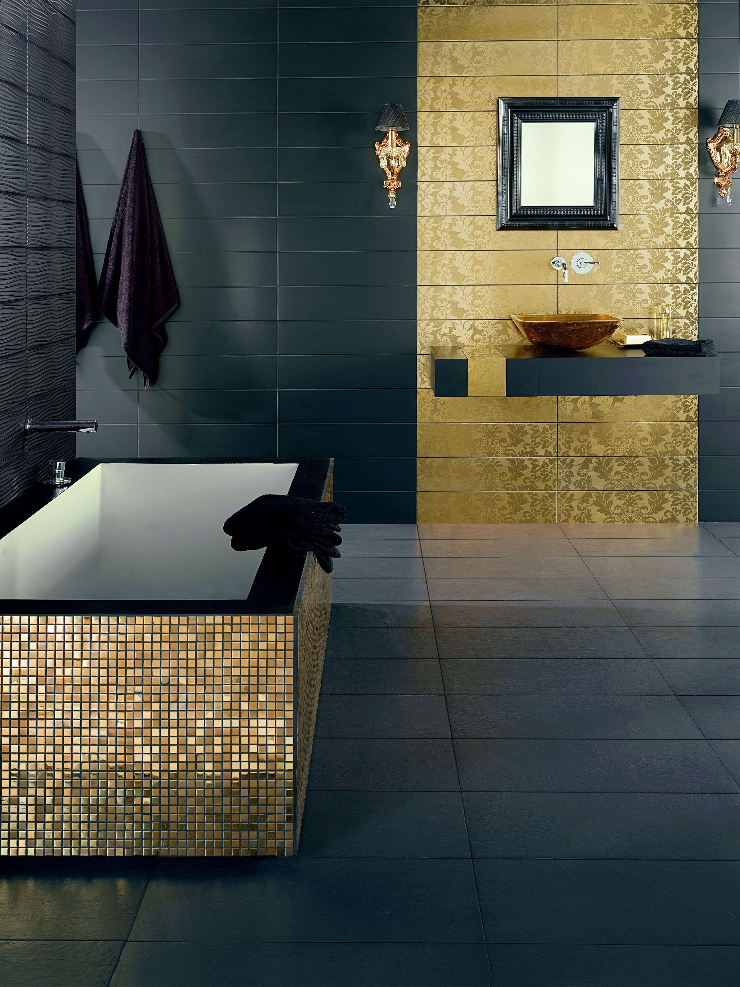 29++ Salle de bain mosaique doree ideas in 2021