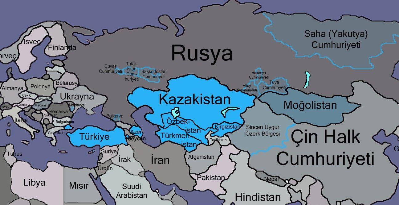 Orta Asya'nın Görünmeyen Gücü Kazakistan - Akademik Perspektif   Ulus devlet, Ordu, Coğrafya