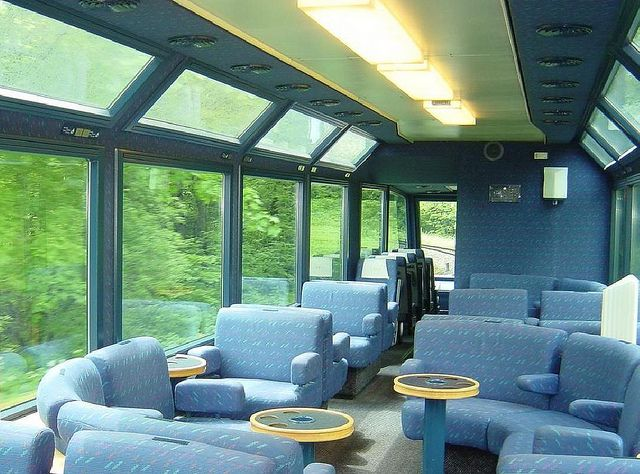 Swiss Charter Train - Carriage on the Golden Pass line, Panoramic by Train Chartering & Private Rail Cars, via Flickr