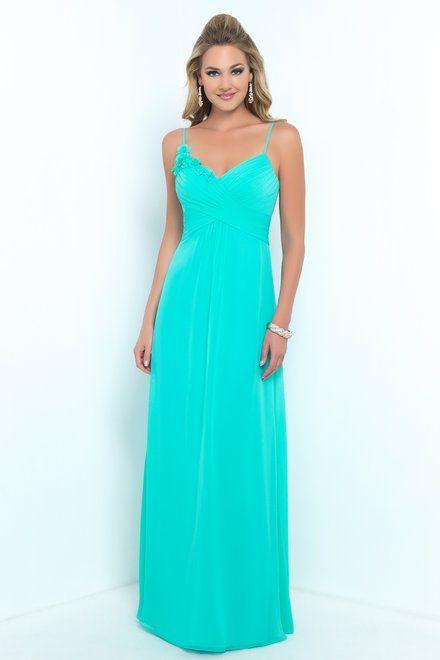 955d1689ca3 Alexia Bridesmaids. Bella Chiffon bridesmaid dress with spaghetti straps