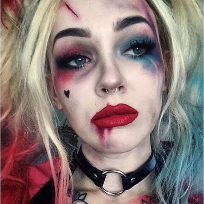 Harley Quinn dans Suicide Squad. Maquillage De PersonnageMaquillage FemmeMaquillage  Halloween