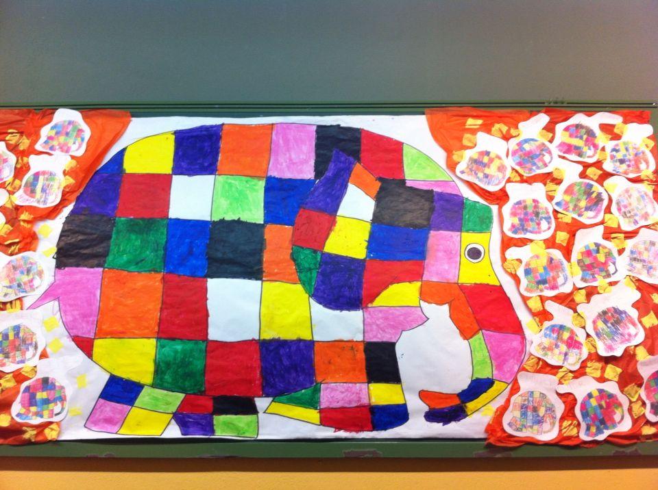 Mural elefants