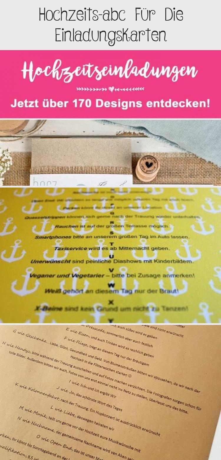 Hochzeits Abc Fur Die Einladungskarten In 2020 Superga