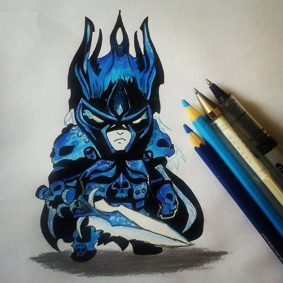 Chibi Lich King by on