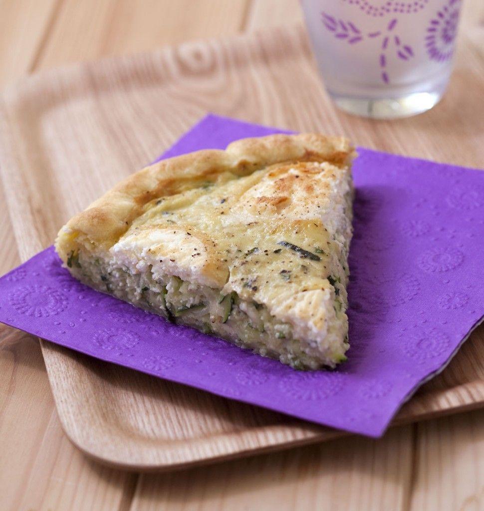 Tarte à la courgette et au fromage de chèvre | Recipe ...