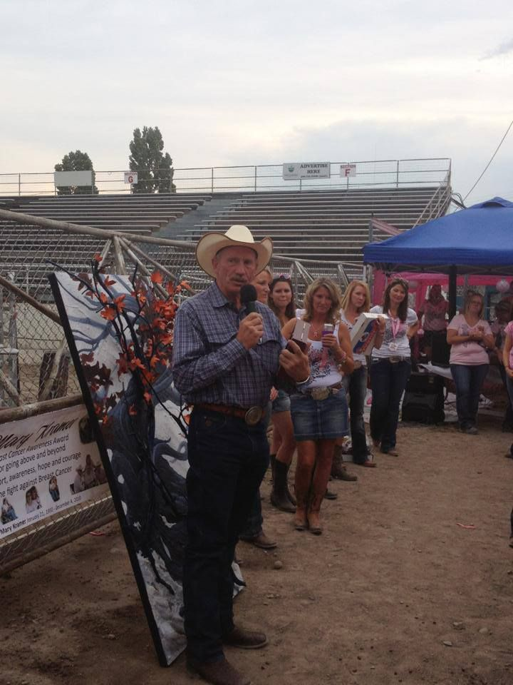 Nice MISSOULA: Karl Tyler Of Tyler Chevrolet Accepts The Mary Kramer Breast  Cancer Awareness Award For His Long Time Support. The Chicks N Chaps Truck?