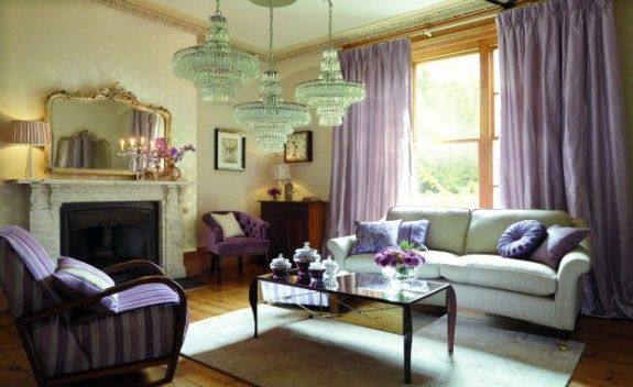 Laura Ashley Inspiration Living Room Pinterest Deep Purple - Laura ashley living room purple