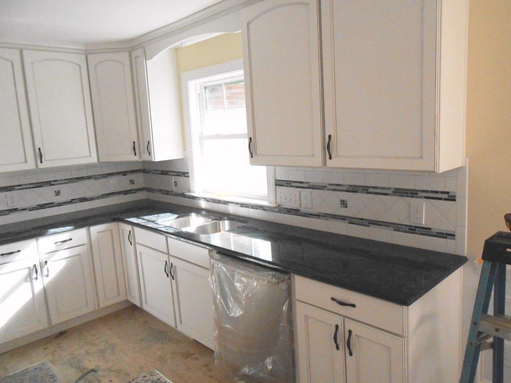 Steel Gray Granite White Cabinets Google Search