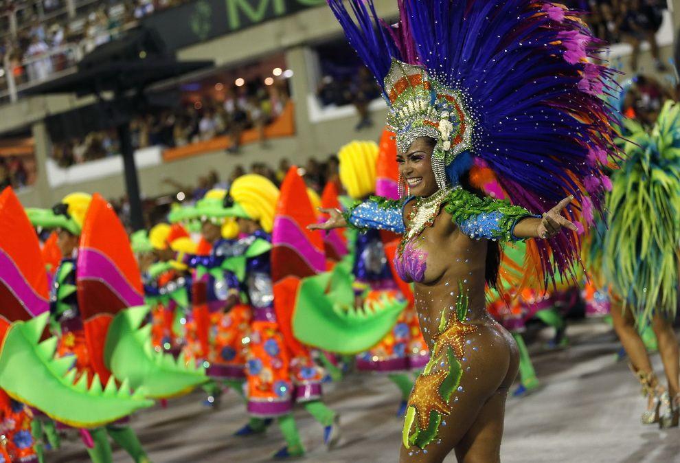 Карнавал в Бразилии. Это нужно видеть! (55 фото ...