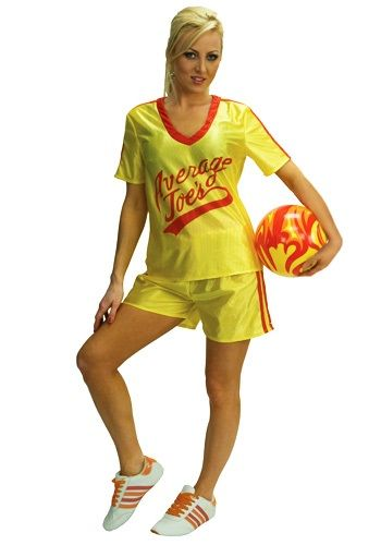womens average joes dodgeball costume yes yes i would - Semi Pro Halloween Costume