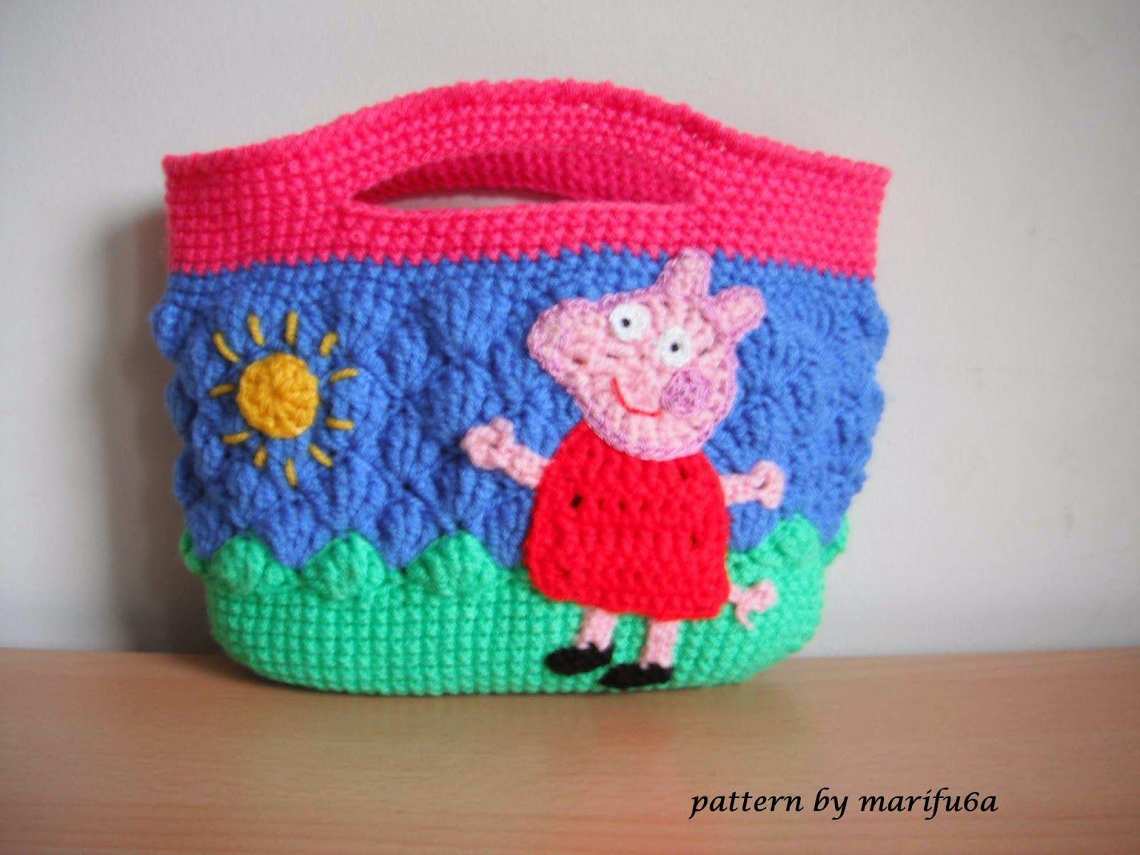 Free crochet patterns and video tutorials: how to crochet peppa pig ...