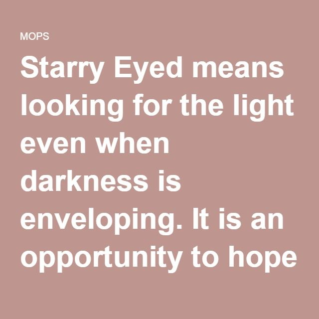 Audacity Of Hope Quotes: { WE ARE THE STARRY EYED }