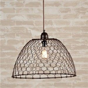 Wire light shades wire center chicken wire basket pendant light shades upcycling the chicken rh pinterest co uk wire lamp shades uk wire lamp shades nz keyboard keysfo Choice Image