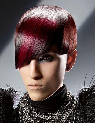fotos de cortes de pelo modernos mujer y peinados