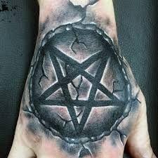 Pentagram Tattoo 48 Pentagram Tattoo Pentagram Tattoo Tattoos