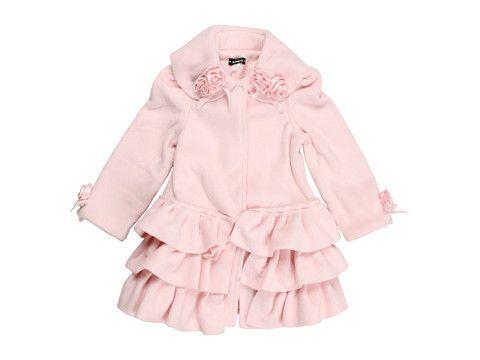 Kate Mack Left Bank Polar Ruffle Coat (Toddler) Pink - Zappos.com Free Shipping BOTH Ways