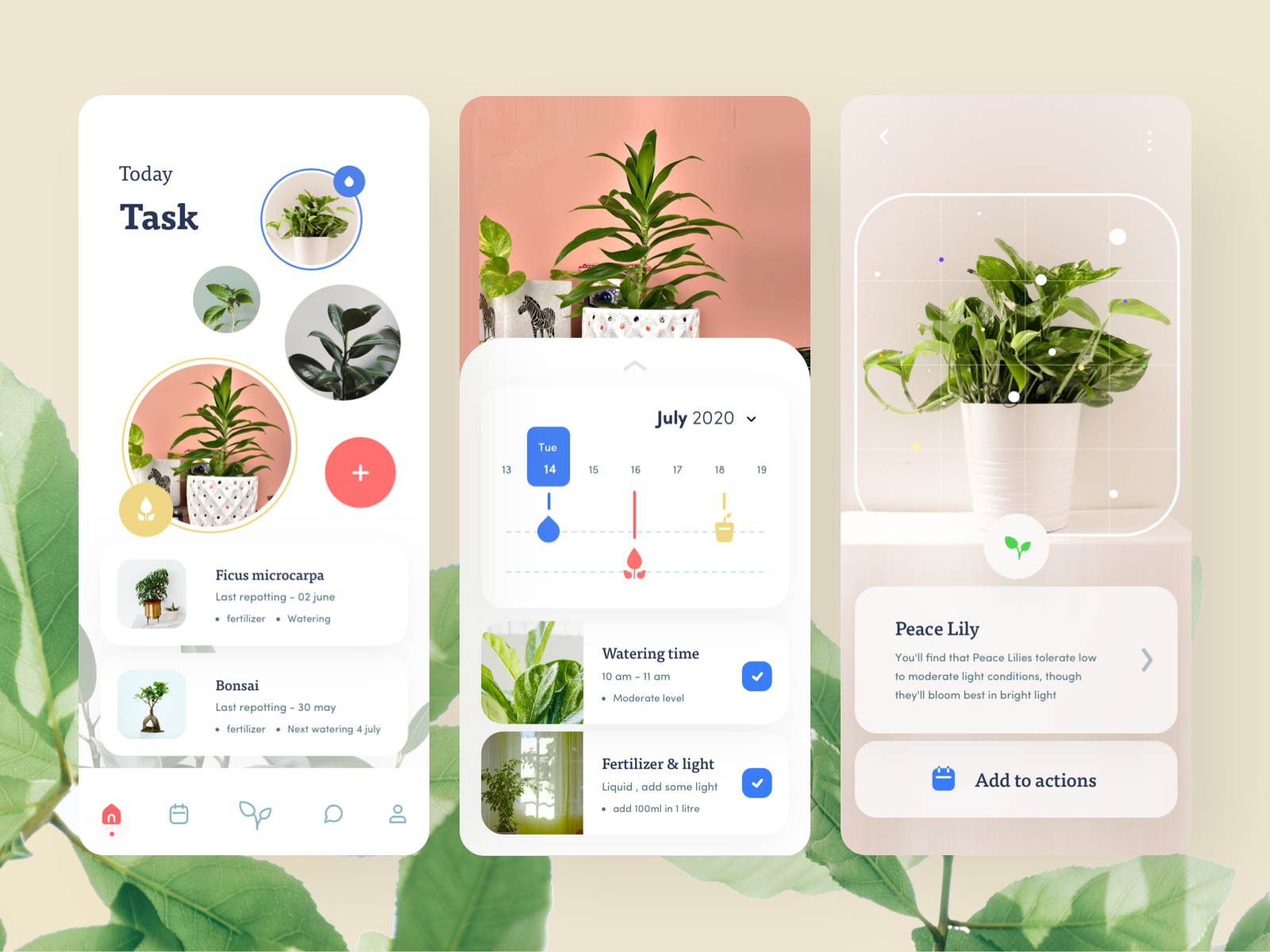Plant growing app in 2020 | Mobile design inspiration, App ...