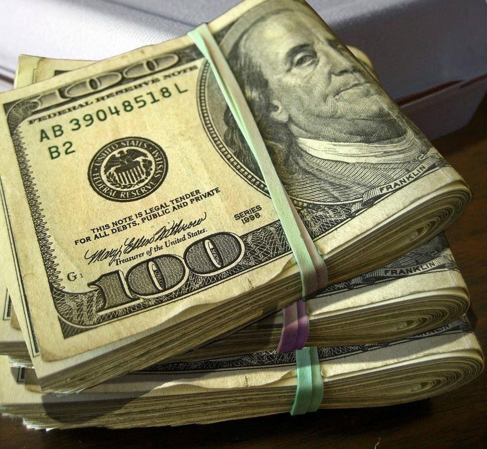 Small stack of cash | Money makes the World go around ...