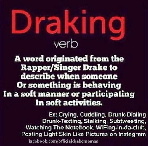 Meaning of draking