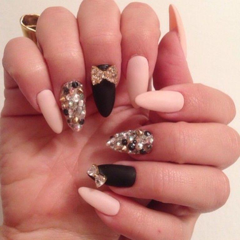 cute nail ideas with sparkles - Amazingly Cute Nail Designs – Best . - Cute Nail Ideas With Sparkles - Amazingly Cute Nail Designs – Best
