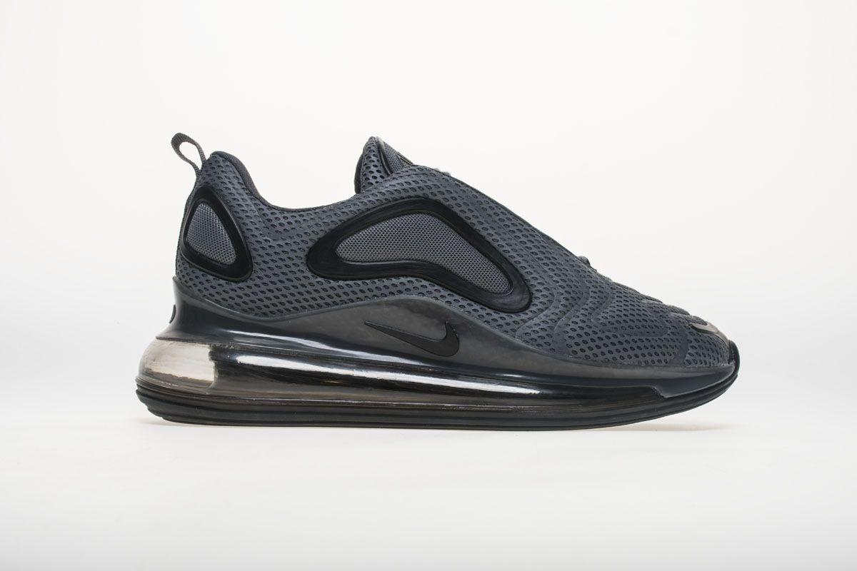 Nike Air Max 720 Carbone White Black Shoes |