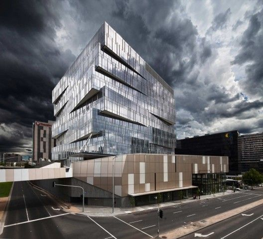 Seven17 Bourke Street mixed use development in Melbourne by Metier3 Architects