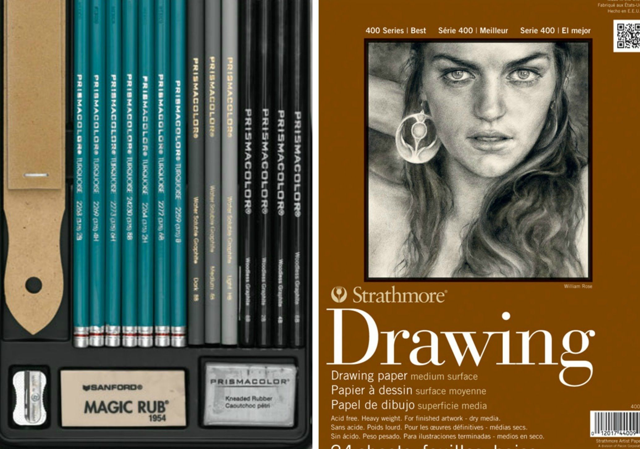 Drawing materials i use best graphite pencils and papers for artists