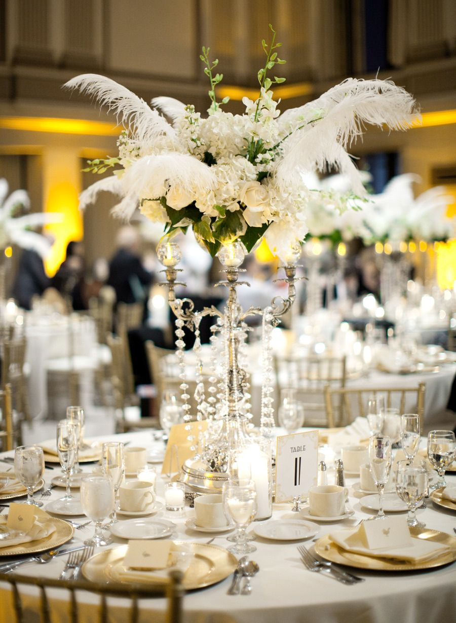 wedding receptions sacramento ca%0A art deco centerpiece for work holiday   anniversary party