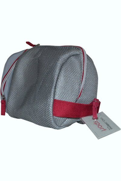 Dolce   Gabbana The One Sporty Man Toiletry Bag is a stylish way of  carrying all your needed toiletry essentials. This medium sized grey mesh  bag comes in a ... 9cf129239691d