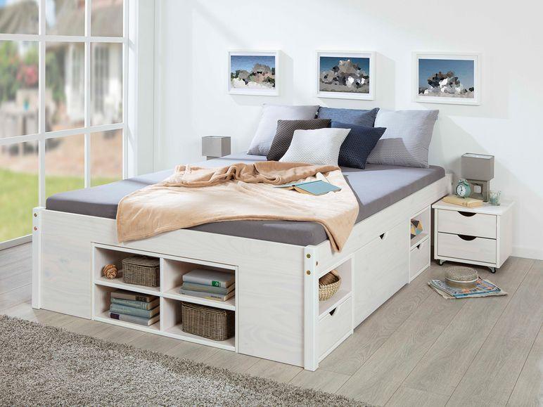Top 8 Funktionsbett Claas 140x200 Funktionsbett Nachtkonsole Bett