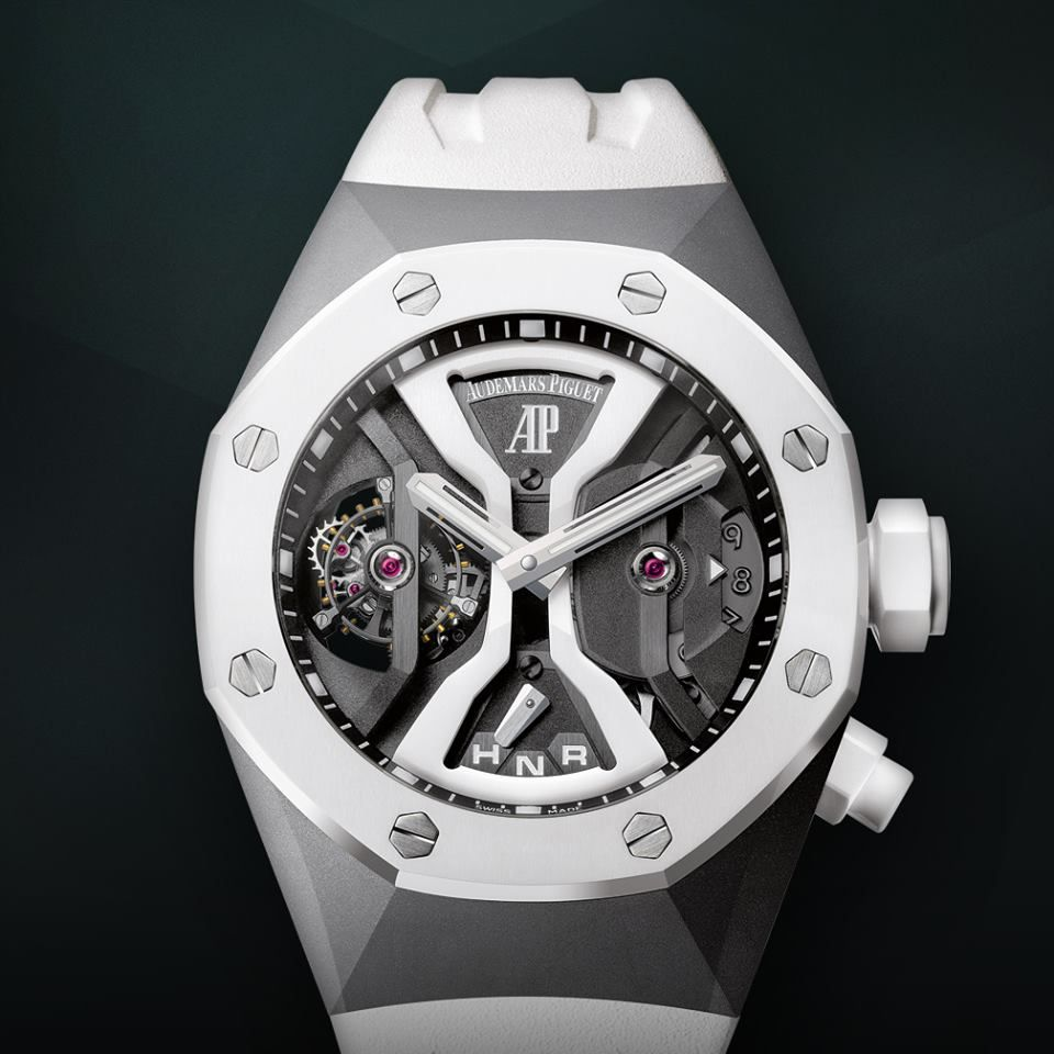 Stop Time With Audemars Piguet S The Royal Oak Tourbillon Concept