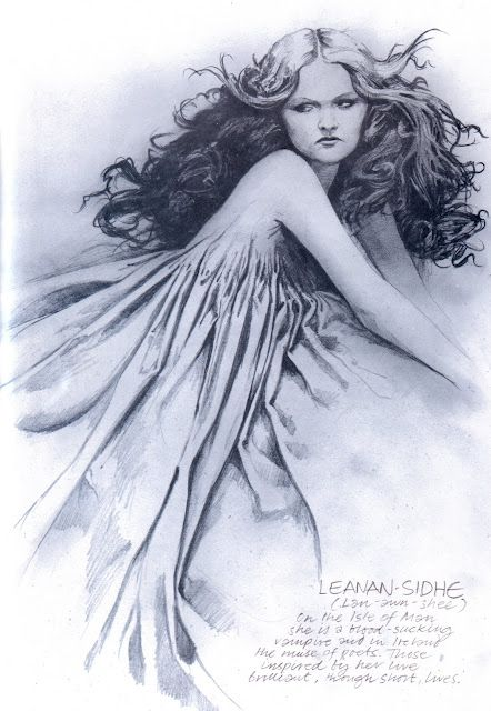 The Leanan Sidhe Is A Perfect Example Of A Piece Of Fairy That Is