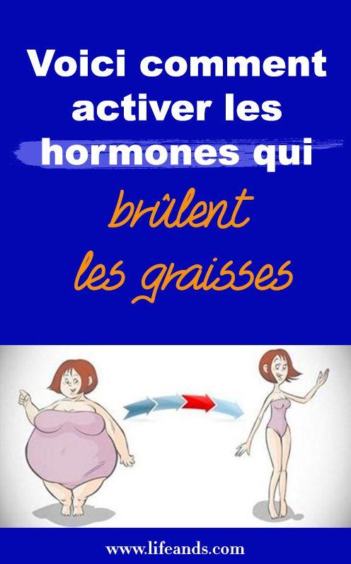 Voici comment activer les hormones qui brûlent les
