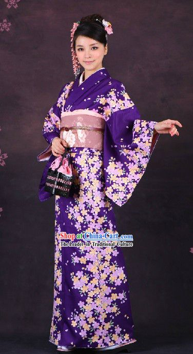 Traditional Japanese Formal Wear Kimono For Women Traditional