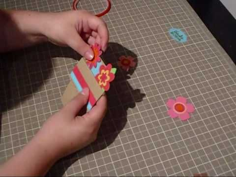 ▶ Episode 59-Flower Pot Card - YouTube