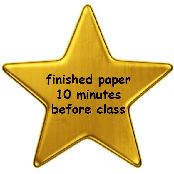 Because it's OK to procrastinate sometimes. | 14 Gold Stars Every College Student Deserves