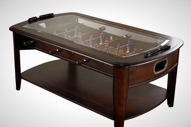 40 Cool Coffee Tables Cool Coffee Tables Unique Coffee Table Coffee Table Foosball