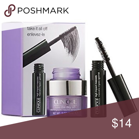 Clinique Take It All Off Mascara & Cleansing Balm Clinique