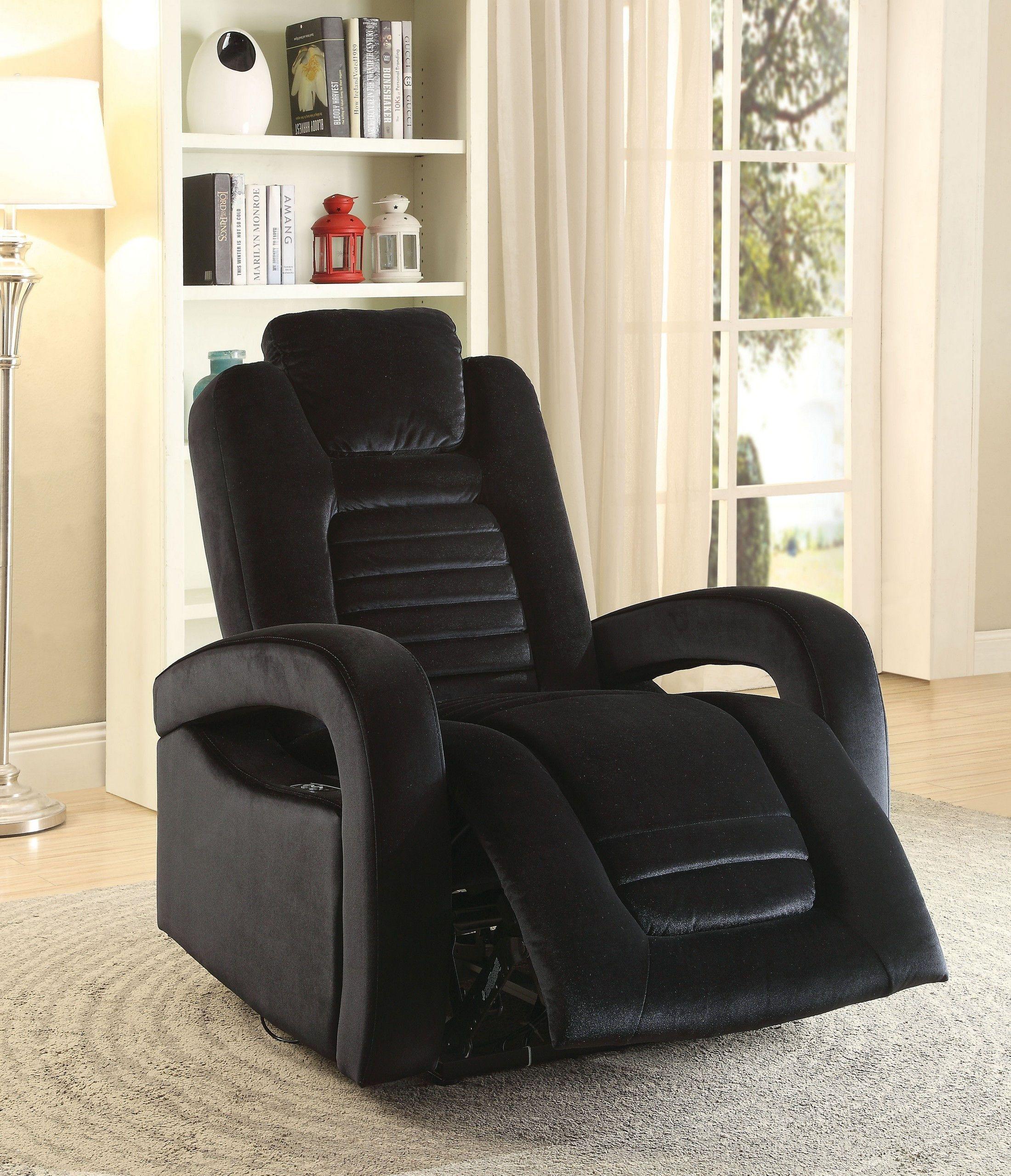 Benjamin Black Chair in 2020 Recliner, Power recliners