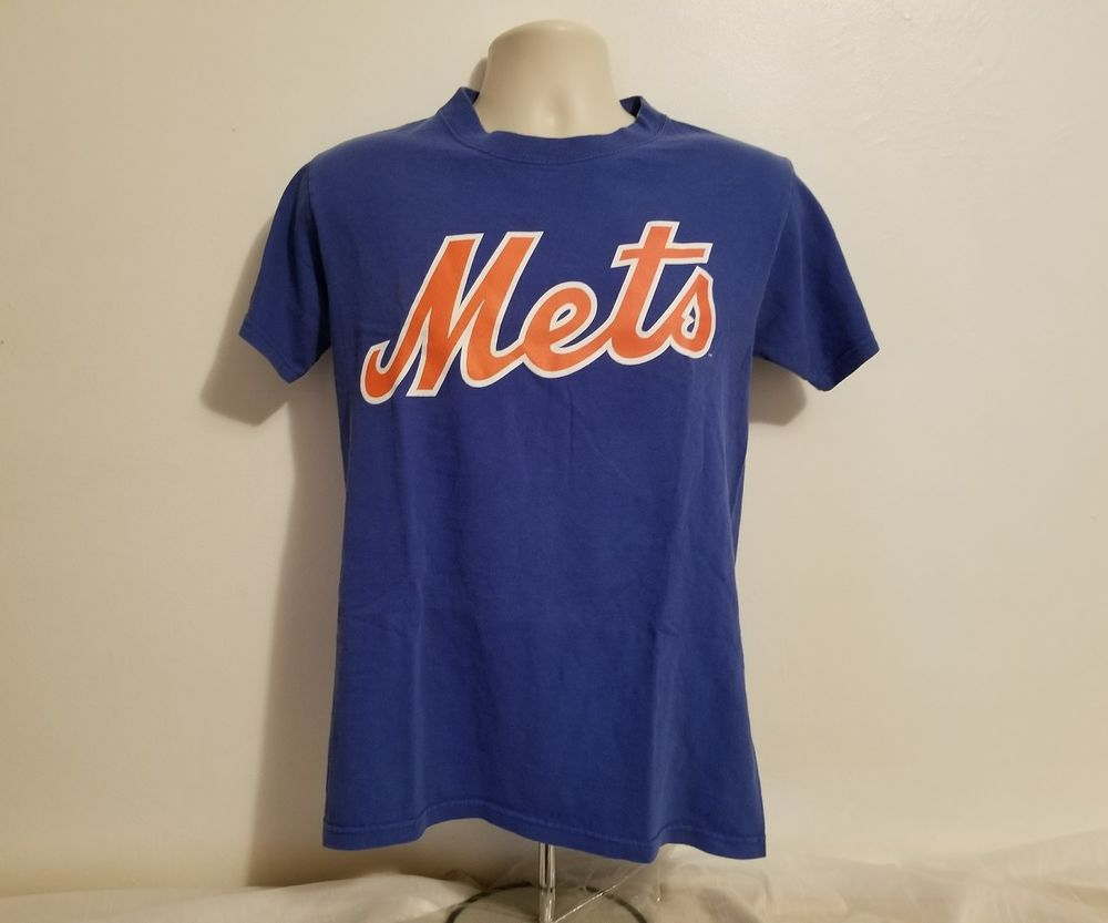 quality design 541f5 cf14a Dwight Gooden #16 New York Mets Adult Small Blue TShirt ...