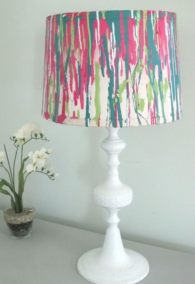 Paint Old Lamp Shade