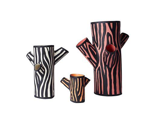HAY Tree Trunk Vase By British Designer Richard Woods.