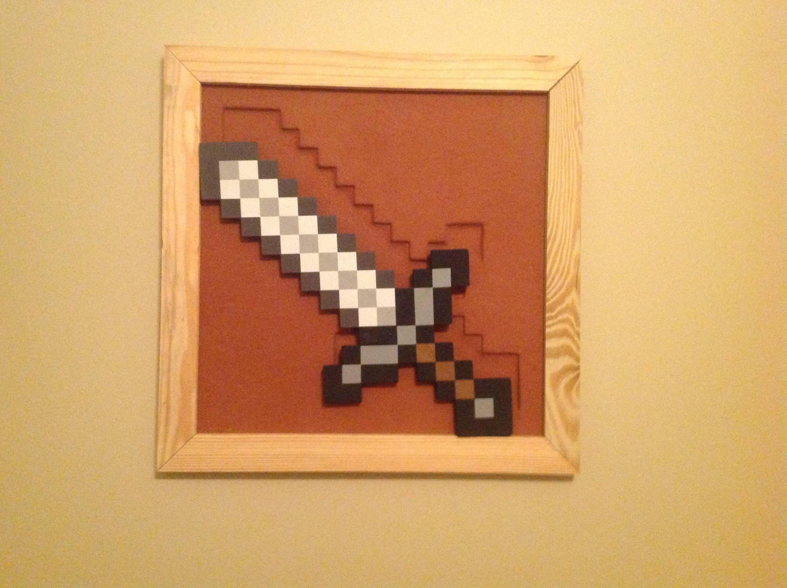Minecraft Item Frame IRL! - Other Fan Art - Fan Art - Show