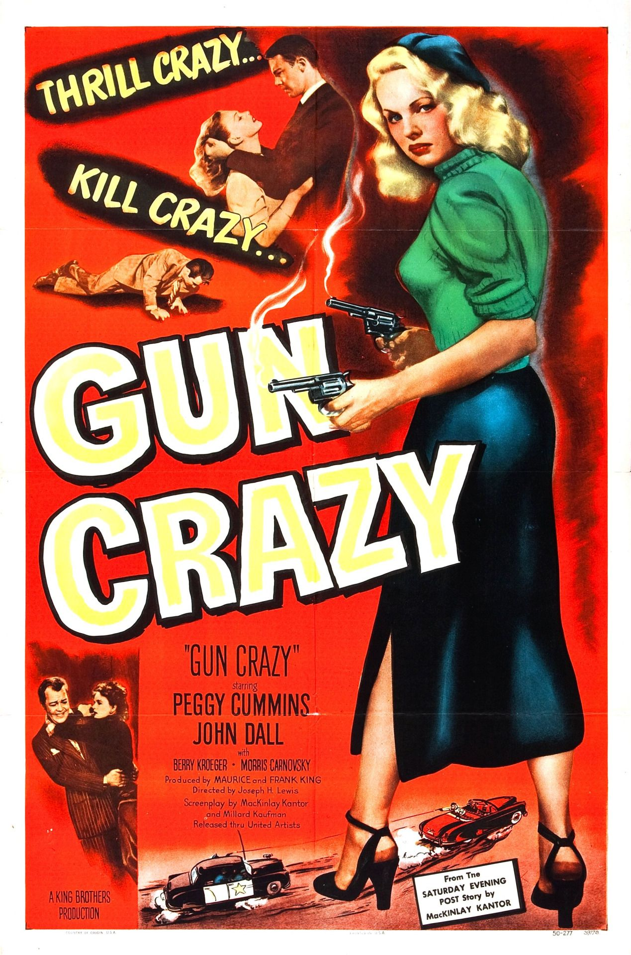 Poster design 1950 - Posts About Gun Crazy On Movie Poster Museum